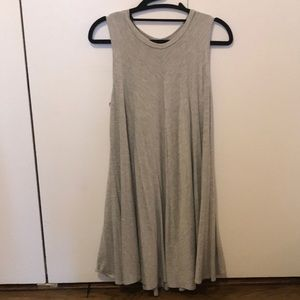 Urban outfitters silence + noise grey cotton dress